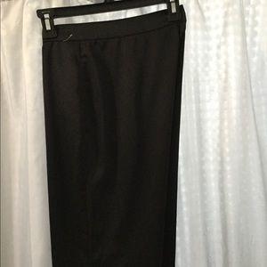 """Diesel Pants - Diesel pants 28"""" Black satin dressy trousers pants"""